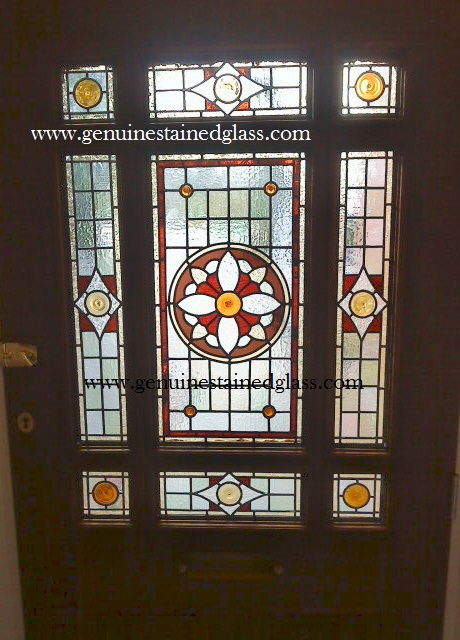 Artisan designed and made stained glass