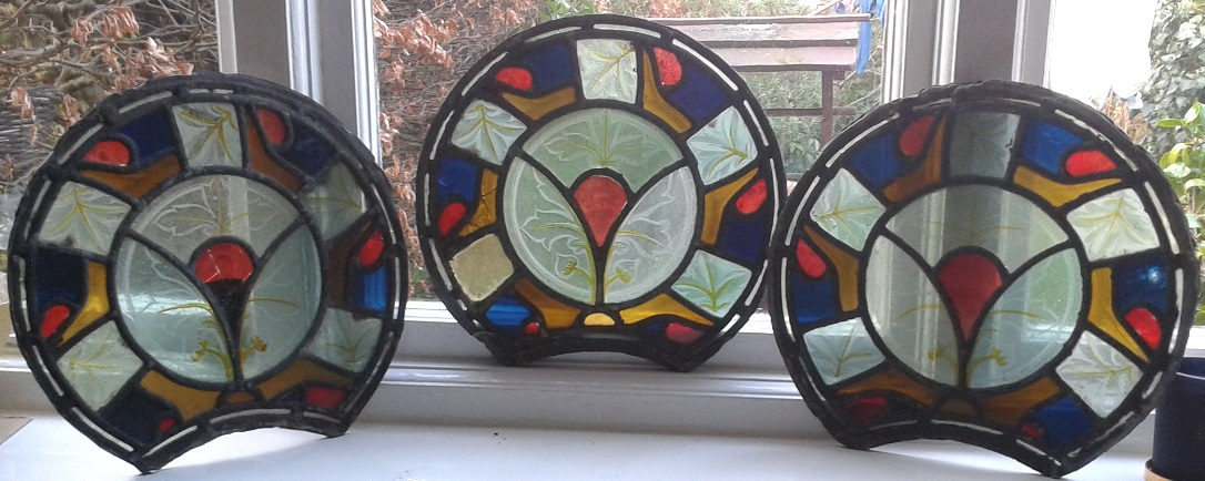 antique stained glass from ARTISAN