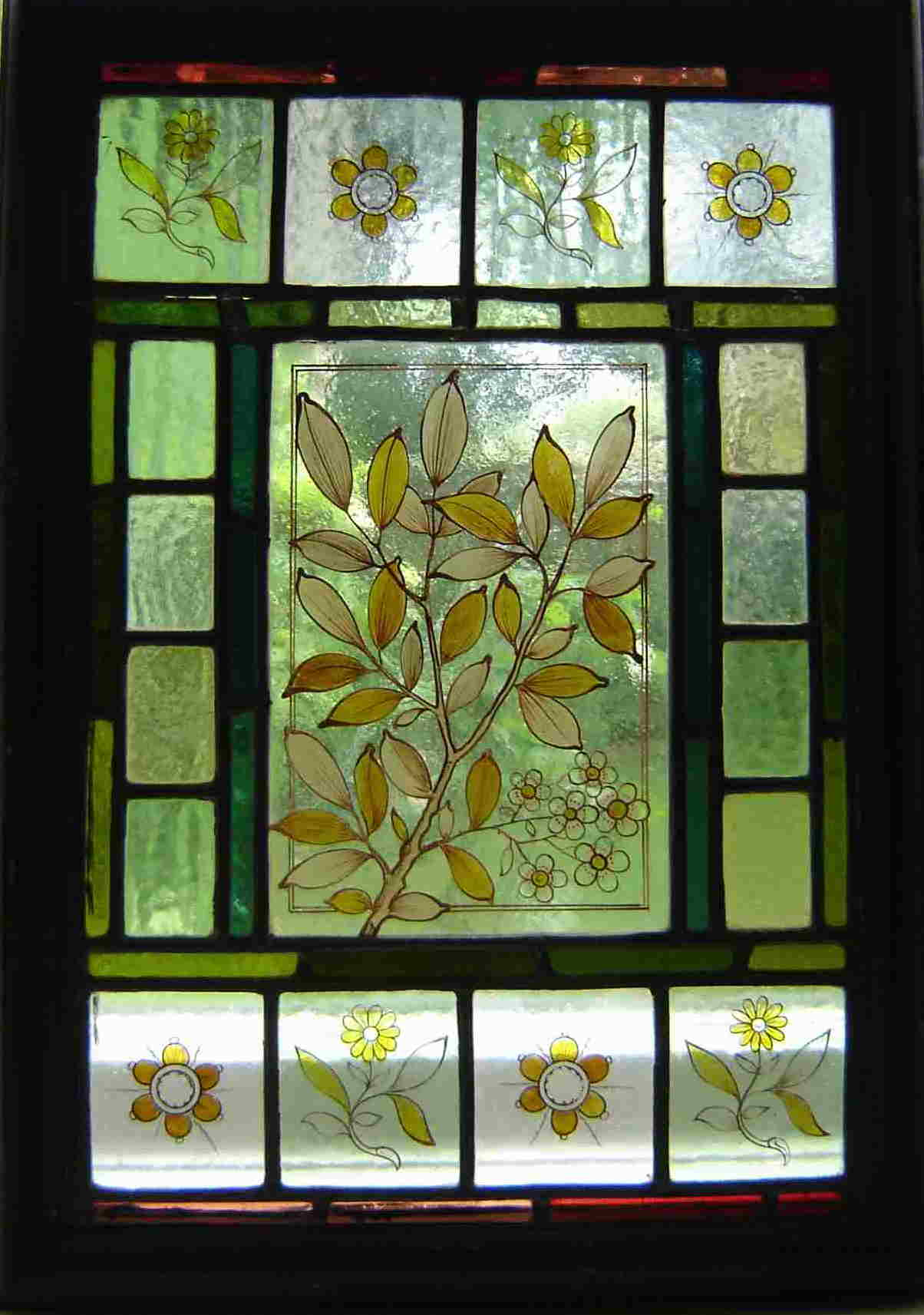 Morris & Co Antique windows - can be reporduced.